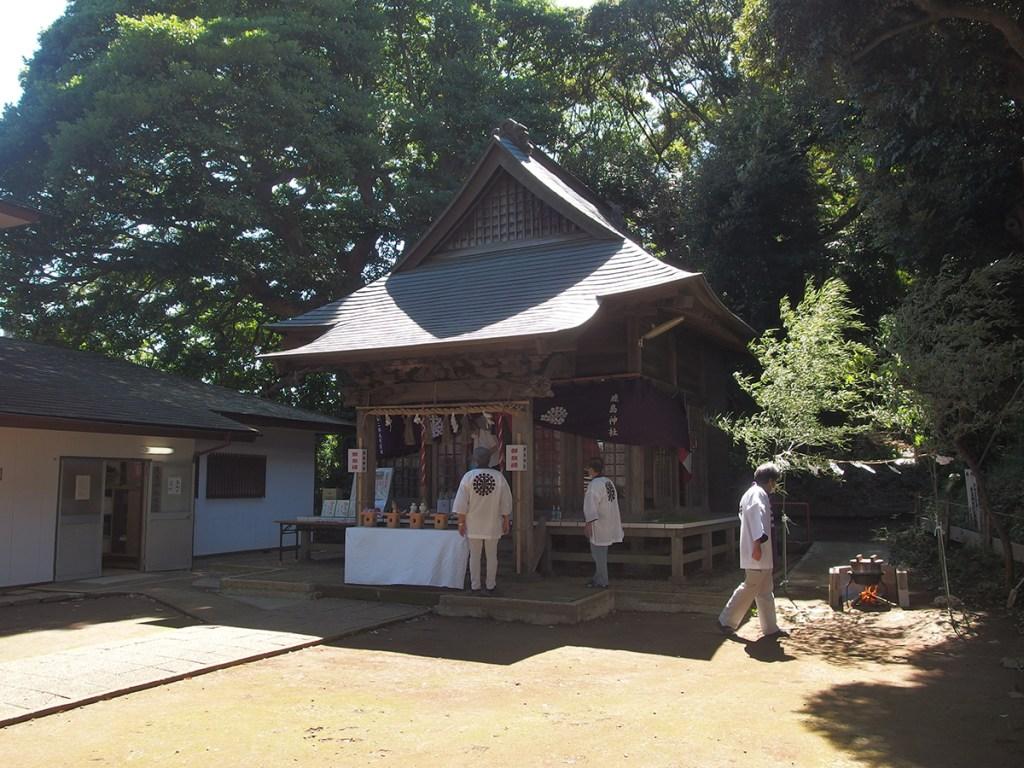 笠間鹿島神社(横浜市栄区笠間)
