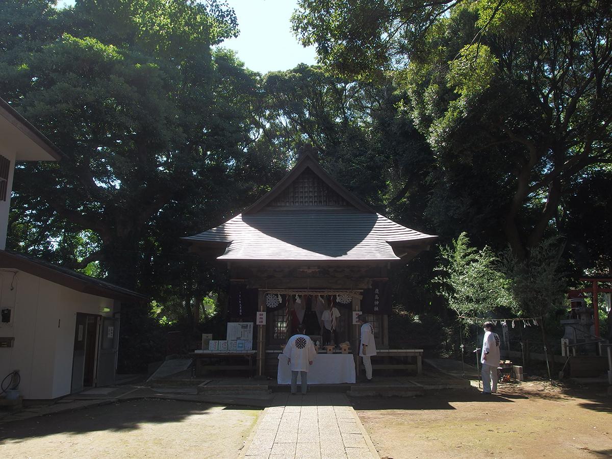 笠間鹿島神社(横浜市栄区笠間)写真