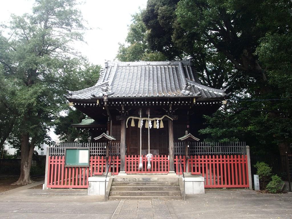 中町天祖神社(世田谷区中町)