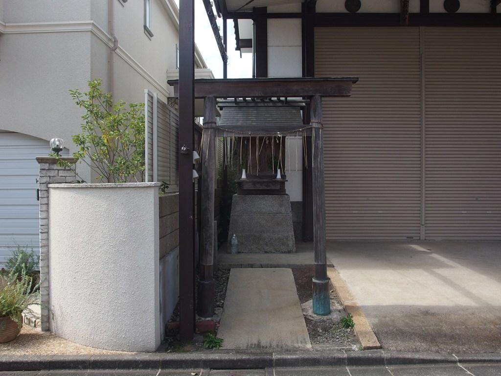 神明社(世田谷区等々力)