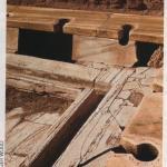 Letrinas en Leptis Magna