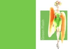Pantone Green Flash