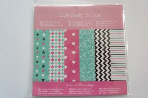 washi sheets action shoplog