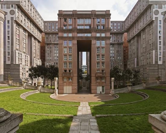 Espaces d'Abraxas lieu de scènes de tournage cinéma science fiction patrimoine et architecture de Brazil à Hunger Games