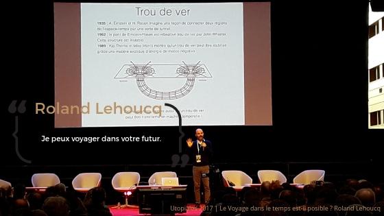 Roland Lehoucq, le voyage dans le temps est-il possible ?