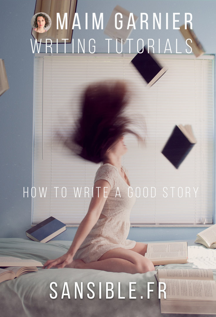 Writing a good book : How to be blown away by your own story