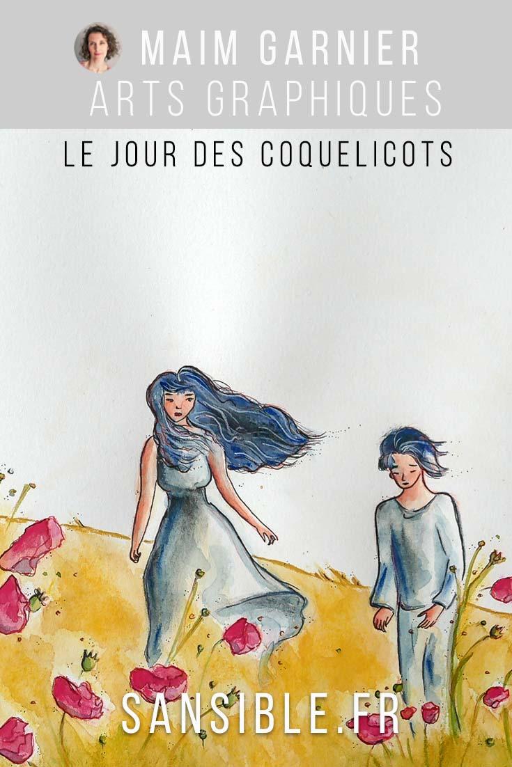 Peinture Le Jour des Coquelicots, Poppies\' day