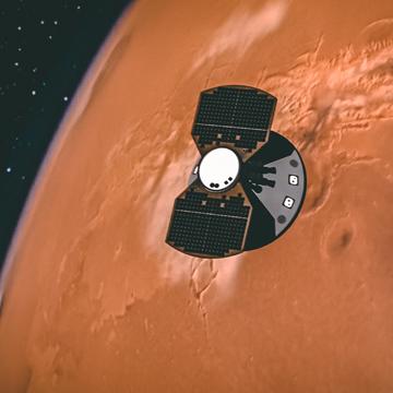 InSight vers Mars, NASA artist's concept, voyage pour Mars sur sansible.fr