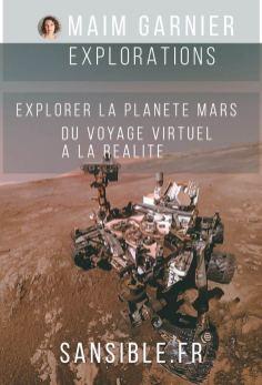 Explorer la planète Mars avec Curiosity, sur Sansible