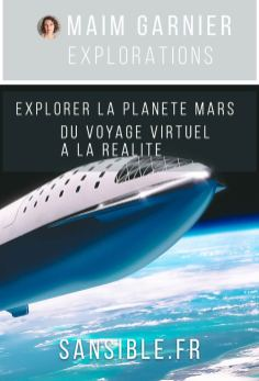 BFR de SpaceX. Explorer la planète Mars, sur Sansible #sansible #spaceX #bfr #navette #espace #mars #planete #voyage #transport #explorationspatiale