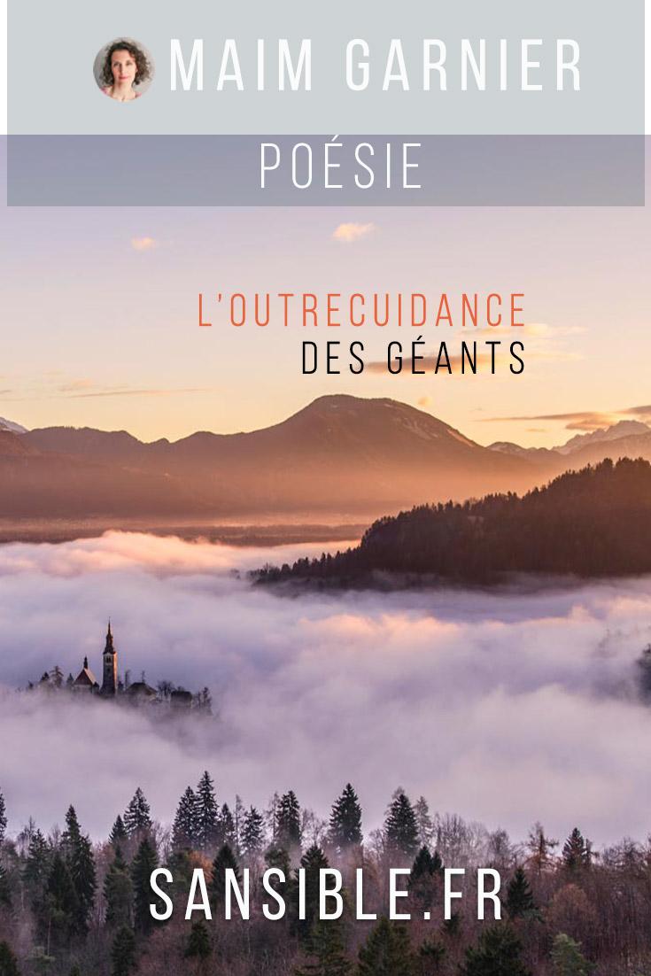 L'outrecuidance des géants, poème engagé de Maïm Garnier. Davantage de textes littéraires et de créations à découvrir sur Sansible. #poesieengagee #litterature #poésie #poème #litteratureengagee #MaimGarnier #sansible