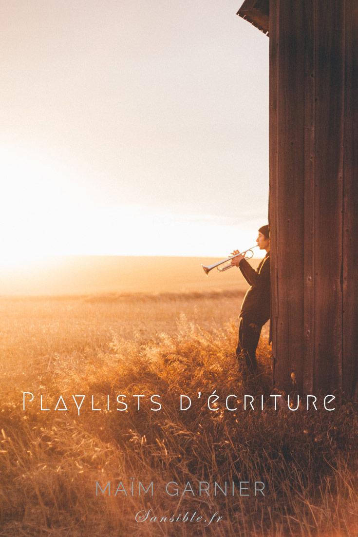 Playlists d'écriture