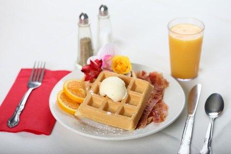 restaurant quality breakfast