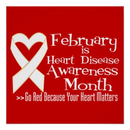 February is Heart Disease Awareness Month