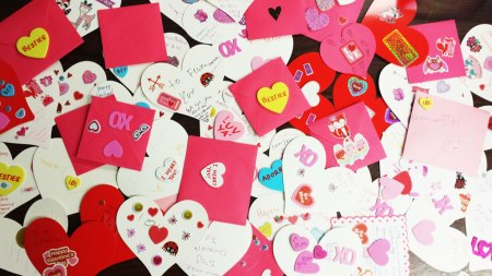Valentines from Girl Scouts Troop 261