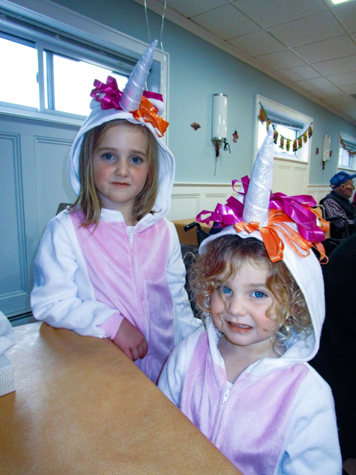 Trick-or-Treat Party unicorns
