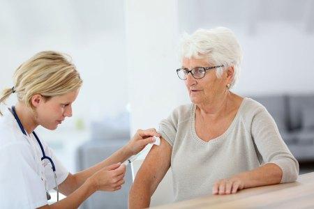 Flu shot patient