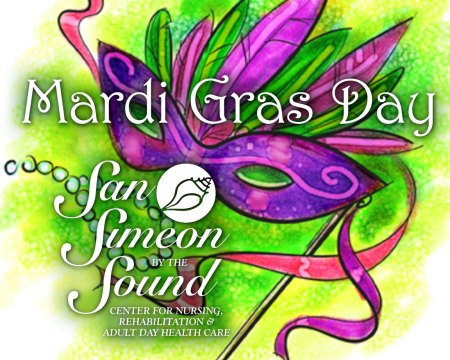 Mardi Gras Spirit Day on March 5th