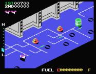 Η έκδοση του παιχνιδιού Zaxxon για τους Spectravideo. Ανάλυση 256x192 pixels, 16 χρώματα