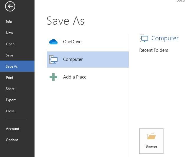 file save Option