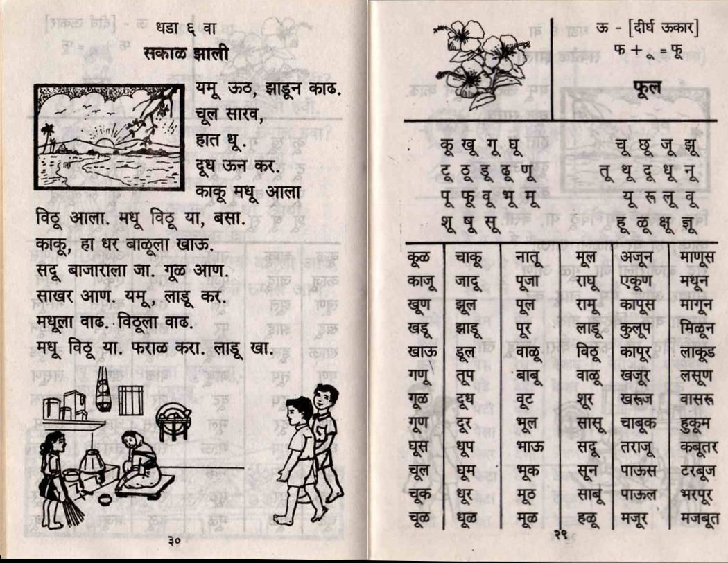 Marathi Barakhadi Pic2fly Com Hindi Html Picture