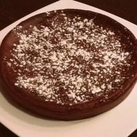 Moelleux au chocolat sans sucre, sans beurre, sans oeufs mais super délicieux!