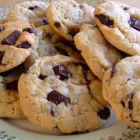 Cookies sans oeufs sans beurre à l'huile d'olive