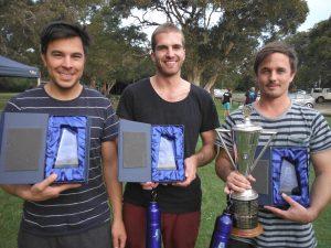 Derrick 2nd, Evan 3rd & Ben 1st - NSW Championships 2014