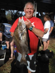 Peter Saunders - 4.4kg Giant Boarfish NSW 2014