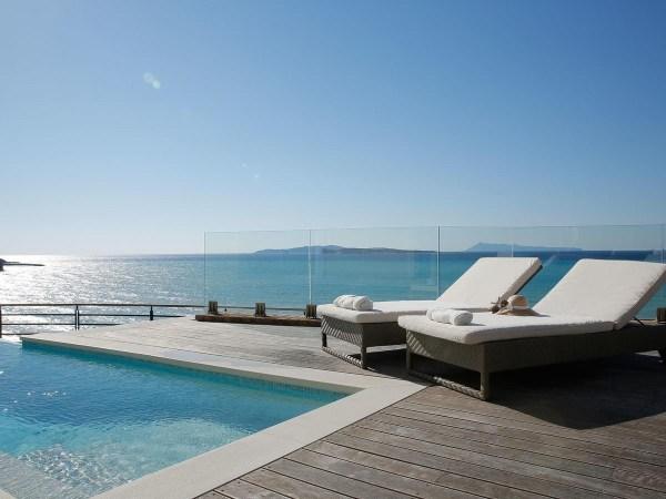 Luxury villas with pools in San Stefano Corfu Greece ...