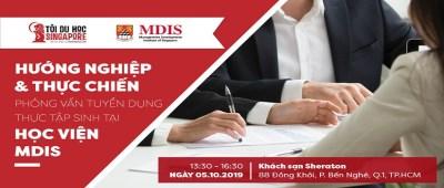 Hội Thảo: Phỏng Vấn Thử Nghiệm Chương Trình Thực Tập Có Lương Của Học Viện MDIS Singapore
