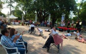 El Ballet Divino Niño Jesús, de Corrientes, a través de la danza homenajeó a los pescadores