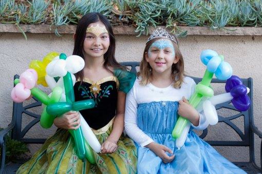 Santa Barbara Balloon Twisting, Balloon Twisters, Balloon Artists, Balloon Animals