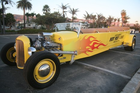 Santa Barbara Hot Rod Limo