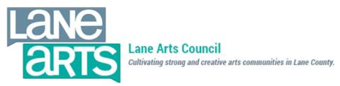 Lane arts council logo