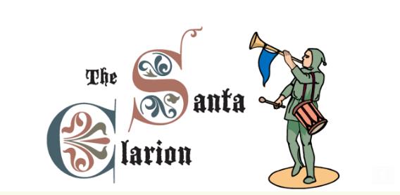 The Santa Clarion logo
