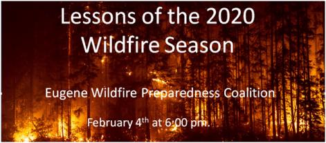 Wildfire Season Lesson Zoom Meeting