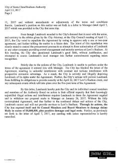 Landmark Letter-2