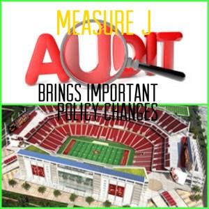 Measure J Levi's Stadium Audit