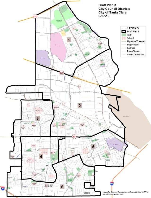 Santa Clara Six Districts