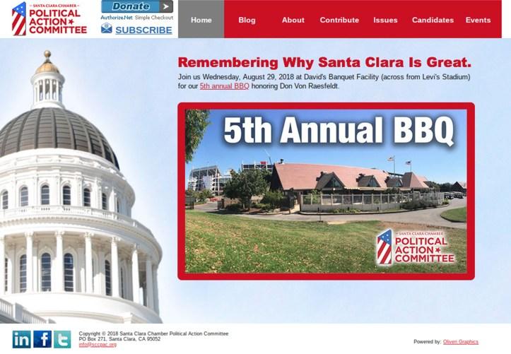 Chamber PAC BBQ Invite