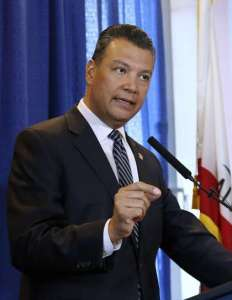 CA Secretary of the State Alex Padilla