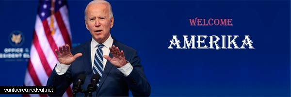 Amerika - Donald Trump & Joe Biden - Bye America and welcome Amerika