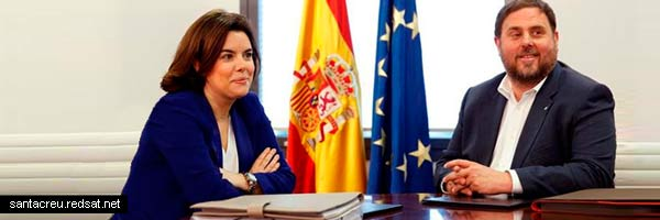 Independencia catalana y las negociaciones en off en La Moncloa