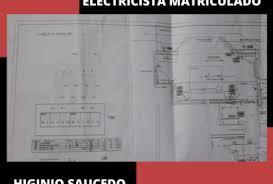 Electricista matriculado de 1er grado