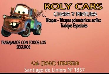Roly Cars Chapa y Pintura