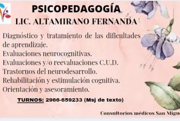Lic. Altamirano Fernanda