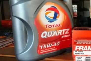 Aceite TOTAL QUARZ