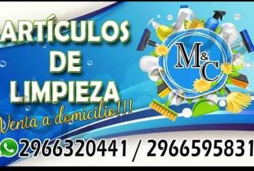M&C artículos de limpieza