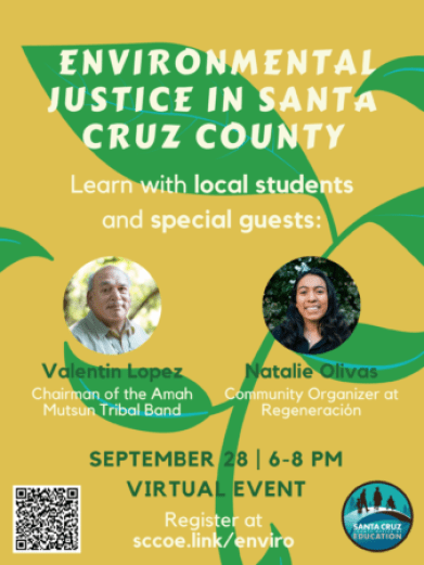 Environmental Justice Event Flyer